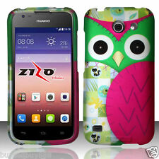 Huawei Tribute Fusion 3 Y536A1 (AT&T) Hard Case Phone Cover - Owl