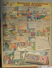 Wrigleys Gum Ad: Adventures With Elmer ! Full Page Size! from 1934