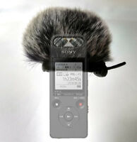 Fur Windshield Windscreen For SONY ICD-SX2000 PCM-A10 Handy Recorder