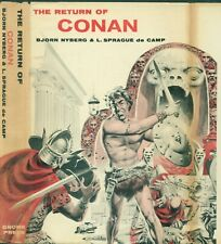 THE RETURN OF CONAN - NYBERG & DECAMP - GNOME PRESS - 1957 - FIRST PRINTING