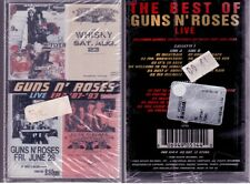 GUNS N ROSES LIVE ERA 87-93 DOUBLE MC SIGILLATA SEALED NEW CASSETTE