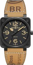 BR 01-92 HERITAGE | BRAND NEW BELL & ROSS INSTRUMENTS 46MM AUTOMATIC MEN'S WATCH