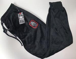 Ecko Unltd Mens Black Fleece Embroidered Logo Jogger Pants (SIZE MEDIUM)