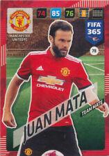 Panini Adrenalyn XL FIFA 365 2018 #78 Juan Mata Manchester United
