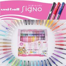 48 Colors Set! Uni-Ball Signo UM-151 0.38mm 0.7mm Gel Ink Rollerball pens