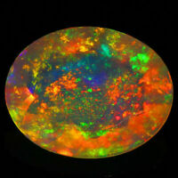 9x7 MM OVAL CUT SUPER RAINBOW ELECTRIC ETHIOPIAN FIRE WELO OPAL WHOLESALE PRICE