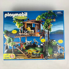 Playmobil 5746 Adventure Tree House Retired Rare - New, Partially Sealed