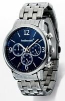 Fred Bennett Anodised Navy Polished Stainless Steel Men's Analogue Watch