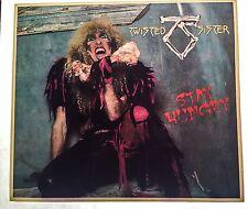 80's Heavy Metal Twisted Sister Hard Rock Concert vTg Orig t-shirt iron-on NOS