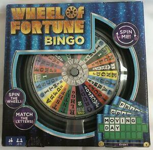 Mattel Wheel of Fortune Bingo Television Board Game