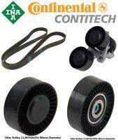 INA + Contitech Drive Belt Kit BMW 135i 08-10, 335i/xi/xDrive 07-10, 335is 11-13