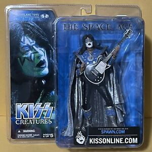 KISS Creatures Ace Frehley Spaceman McFarlane 2002 Figure Sealed RARE New Sealed