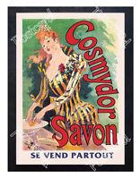 Historic Cosmydor Savon French soap Advertising Postcard