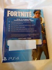 FORTNITE PS4 NEW UK PAL Download Code Sony PlayStation 4 BOMBER PACK DLC POSTED