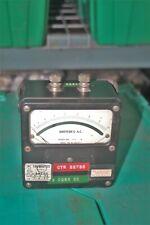 Vintage Weston Electrical Instruments Amperes Ac Meter Model 433 0 10