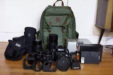 Pentax 67II Medium Format SLR Film Camera Exc++ Condition with 6 Lenses & Extras