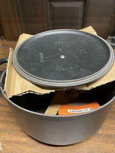 Le Creuset round dutch oven 3.5 qt NOS Black Missing box