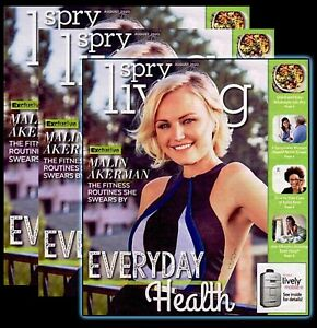 MALIN AKERMAN SPRY LIVING MAGAZINE 2020 - HER FITNESS ROUTINES - New