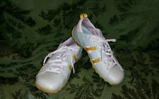 CAT Caterpillar Shoes Womens Sneakers SIZE 8W Light Green with Yellow Trim ~2016