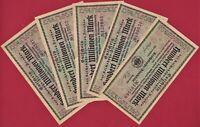 1 SCARCE GERMANY GUTSCHEIN NOTGELD NOTE: 100 Hundert Millionen Mark 1923 (VF-XF)