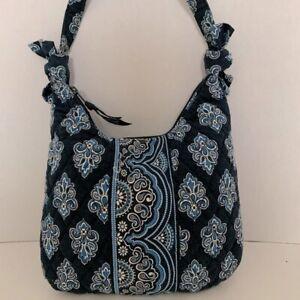 Vera Bradley Purse Olivia Calypso Blue Handbag with Bows!