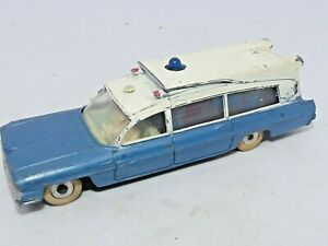 DINKY TOYS - SUPERIOR CRITERION AMBULANCE, 277, c1962, Made In England. Meccano