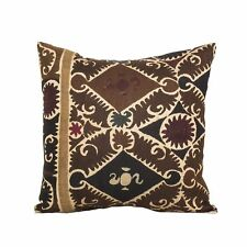 """18"""" x 18"""" Pillow Cover Suzani Pillow Cover Vintage Fast Shipment With UPS 07572"""
