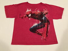 Spiderman kids tshirts short sleeve red xs