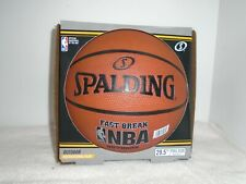 SPALDING Official NBA Fast Break Outdoor Basketball 29.5 Full Size REC PLAY