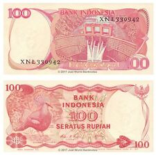 Indonesia 100 Rupiah 1984 Replacement P-122r Banknotes UNC