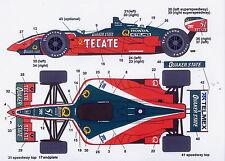 1/25 CART Tecate decal / F1 Tamiya