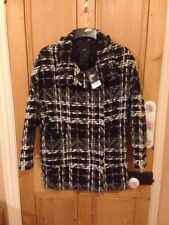 ladies size 6 beautiful next black and white coat BNWT RRP £90
