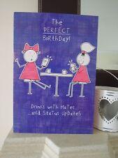 Purple Ronnie Facebook Status Updates Birthday Card Sister Best Friend Mates