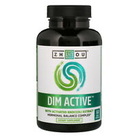 Zhou Nutrition, DIM (Diindolylmethane) Active  Balance Complex, 60 Veg Capsules