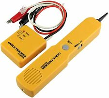 Electrical Wire Tracer Circuit Tester Withtone Generator Amp Probe Kit Cable