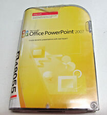 Microsoft PowerPoint 2007 upgrade with key