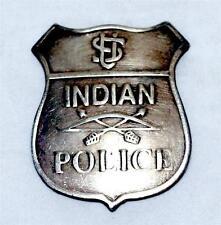 US INDIAN POLICE Homeland Security OLD WEST SOUTHWESTERN BADGE Vintage Style New