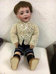 antike Puppe, SFBJ, Frankreich,Porzellan, 45 cm gross