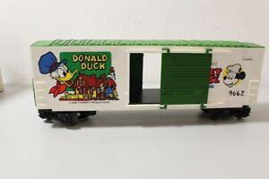 LIONEL 1977 6-9662 WALT DISNEY'S MICKEY MOUSE EXPRESS DONALD DUCK HI-CUBE BOXCAR