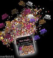 MIX TABLE SCATTER 'HEN PARTY' DO CONFETTI SPARKLE DECORATION NIGHT ACCESSORIES
