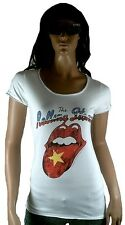 AMPLIFIED ROLLING STONES Vietnam Zunge Rock Star Designer ViP T-Shirt g.S 34/36