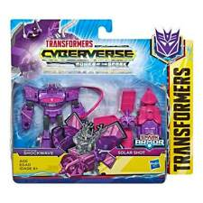 Transformers Cyberverse Spark Armor: Shockwave & Solar Shot - Brand New