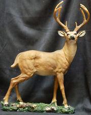 """WOODLAND MONARCH   Deer    statue figure 16"""""""