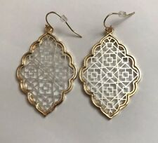 Silver/Gold Earrings by Kendra + Chloe Silver & Gold designed by Isabel J. Scott