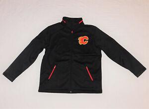 Calgary Flames NHL Hockey Fanatics Authentic Pro Rinkside Jacket Size XL NEW