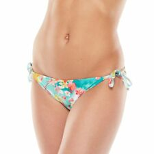 Candie's Junior's Size XS - XL Cherry Blossom Floral Print String Bikini Bottoms