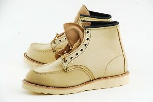NEW W BOX | RED WING 7D HAWTHORNE ABILENE MOC TOE HERITAGE BOOTS 8173