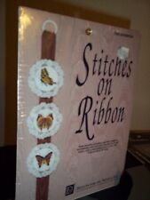 Design For the Needle Cross Stitch Kit Stitches On Ribbon Butterflies