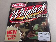 Berkley Whiplash Camo,Umbrella Rig Super Braid,20 lbs (9.7 kg) 300 yds.(270 m)