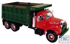 10-3962 First Gear 1:34 SCALE  Mack B Model Dump Truck Red & Green